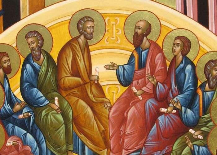 СИЛАЗАК СВЕТОГ ДУХА НА АПОСТОЛЕ – ПЕДЕСЕТНИЦА – ДУХОВИ – ТРОЈЧИНДАН